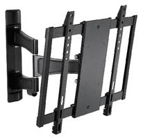 Articulating Wall Mount holds flat panel displays up to 55 lb.