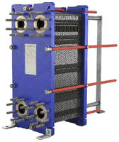 Gasketed Plate Heat Exchanger features compact design.