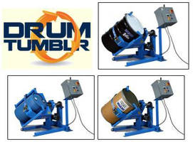 Drum Mixing Machine corrects settling and ensures homogenization.