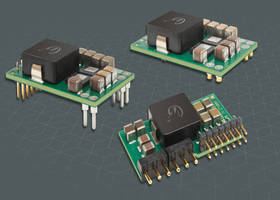 Digitally Controlled POL DC/DC Converters deliver 50 A/165 W.