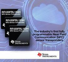 NFC Sensor Transponder targets IoT applications.