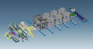 Blank Feeder features fully automated tooling change.