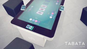 Transporting Furniture Into the Digital Age; Zytronic Enhances Interactive Tables with Multi-Touch Technology