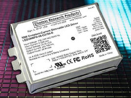Programmable LED Driver targets downlight luminaires.