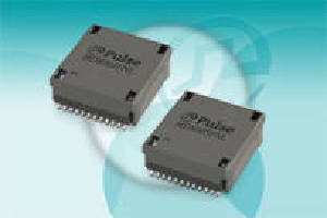 SMT Transformers suit power-over-HDBaseT applications.