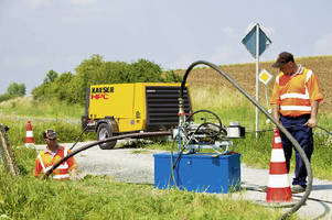 Towable Compressors meet requirements of Stage IIIB emissions.