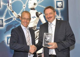 HMS Delivers the 3,000,000th Anybus Module to Bosch Rexroth