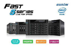 ASUSTOR Launches 2 and 4 Bay Tower Models for New High Speed 50T and 51T Series