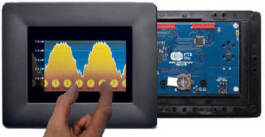 Development Modules support HMIs with capacitive touch.
