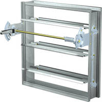 Dynamic Fire Dampers comes in sizes to 128 x 100 in.