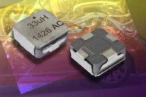 High-Current Inductor features integrated e-shield.