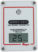Gas Transmitter supports BACnet or Modbus communication.