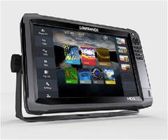 Fishfinder/Chartplotter Series features HD design.