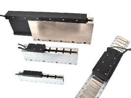 Brushless Linear Motors come in cog-free and iron-core models.