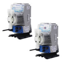 Metering Pumps cover flow rates from 1-14 gph in 3 sizes.