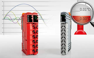 I/O System includes temperature and energy measurement modules.