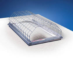 Fall Protection System helps prevent skylight accidents.