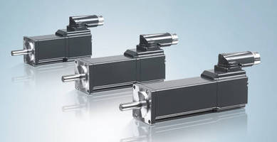 Compact, Dynamic Servomotors conserve space in motion systems.