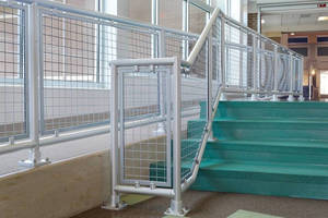 Hollaender® Interna-Rail® Handrail System Chosen for Elementary School Construction Project