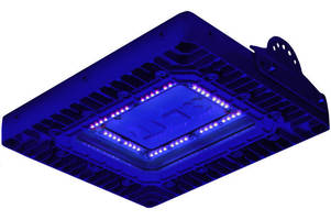 Explosionproof UV LED Fixture is approved for paint spray booths.