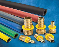 Push-On Hose and Couplings negate need for tools during assembly.