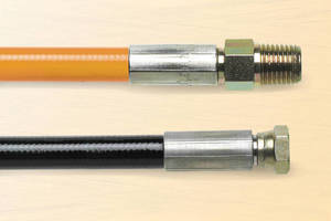 Durable, Flexible, Thermoplastic Hose withstands 10,000 psi max.