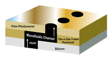 Dry-Film Negative Photoresist suits MEMS, wafer applications.