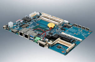 Single Board Computer features 5th Gen Intel® Core(TM) processor.