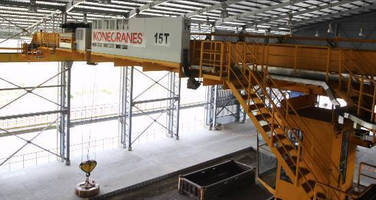 "First Konecranes SMARTON ""crane with a brain"" Helps Arrium's Moly-Cop Lift Efficiently and Safely"