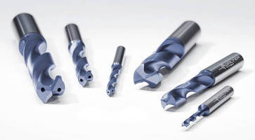 Solid Carbide Drill addresses small lot production needs.