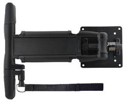 Tilt, Swivel and Swing Display Mount features locking arm.