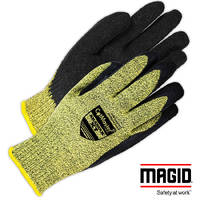 Cut-Resistant Work Glove provides optimal grip.