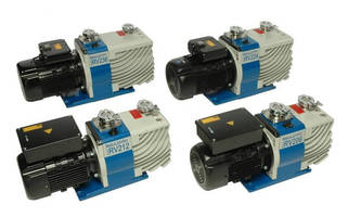 Rotary Vane Vacuum Pumps support high-speed operation.