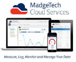 Cloud Services provide instant access to temperature data.