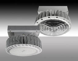 Round LED High Bays offer 2 distribution options.