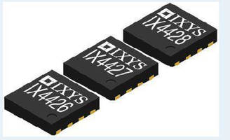 MOSFET Gate Drivers operate from 4.5-35 V.