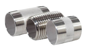 Stainless Steel Nipples suit sanitary applications.