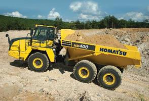 Articulated Dump Truck features Tier 4 Final engine.