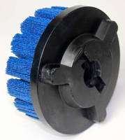 Composite Disc Brushes are available with shell mill mount.