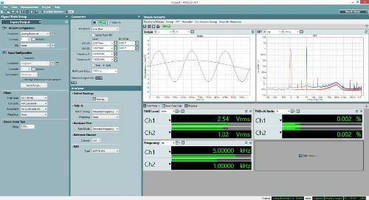 Audio Test Software increases multichannel input bandwidth.