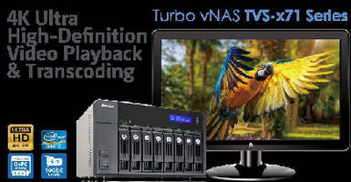 Virtual NAS System supports 10 GbE networks.