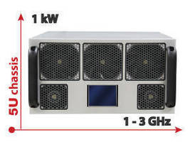 Power Amplifier delivers 1 kW broadband output power.
