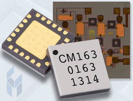 Ultra Low Noise MMIC Amplifier has 17-27 GHz bandwidth.