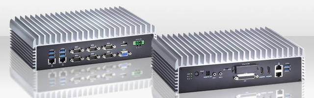 Fanless Embedded Computer offers diverse interface options.