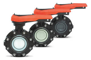 All-Plastic Lug Style Butterfly Valve offers extended service.