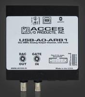 USB Arbitrary Waveform Generator offers configurable DIO lines.