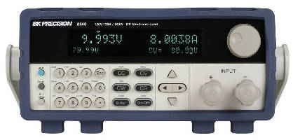 DC Electronic Loads offer transient operation up to 25 kHz.