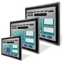 Modular Touch Panel HMI PCs serve ICT, IIoT, M2M applications.