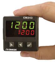 Temperature Process Controller provides dual LED displays.