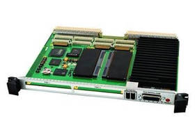 Single Board Computer features 6U VME64X VMEbus form factor.